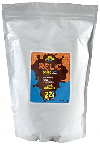relic-paleo-protein-shake-grass-fed-whey-dark-chocolate-flavor-15-servings-735g-by-relic-paleo