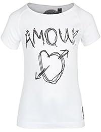 GRAIN Girl's Printed Poly Cotton Black T-Shirts