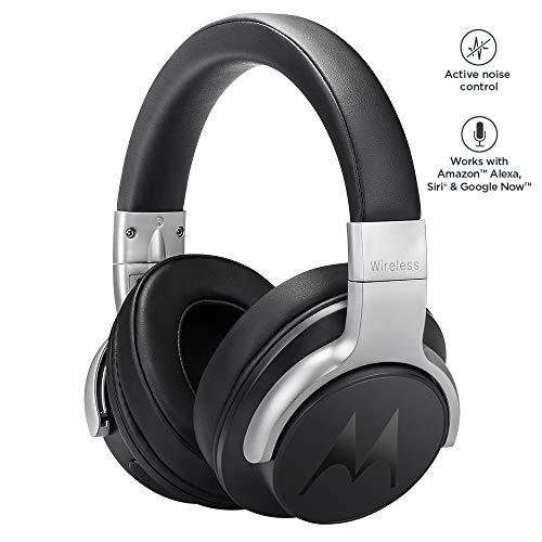 Pulse Escape+ de Motorola - Auriculares y cascos HD Sound Bluetooth - Compatible con Alexa, Siri y Google Now - Negro