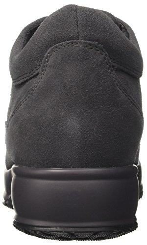 Lumberjack Damen Raul Niedrige Sneaker Grigio (Dk Grey)