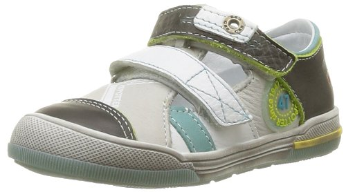 GBB  Gian,  Sneaker ragazzo Grigio Gris (14 Vte Marron Turq Dpf Manbo) 30