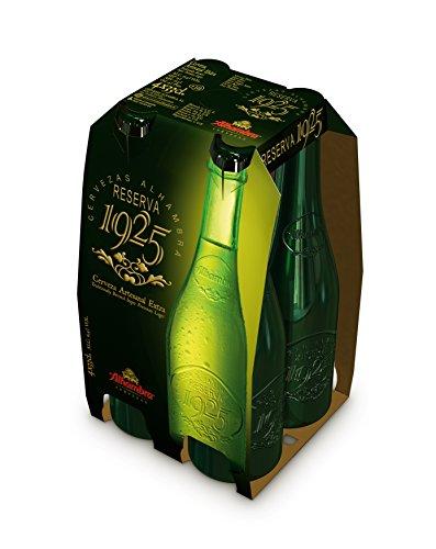Alhambra Reserva 1925 - Cerveza Botella 330 ml (Pack de 4) Total: 1320 ml