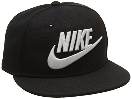 Gorras Nike (Nike NK True Cap künftige Tennis-Cap, Kinder, Kinder, Y Nk True Cap Futura, Schwarz (Schwarz/Weiß), MISC)