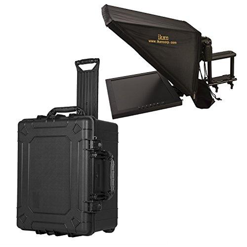 Ikan PT3700 Teleprompter & Hard Case Travel Kit, Black (PT3700-TK)