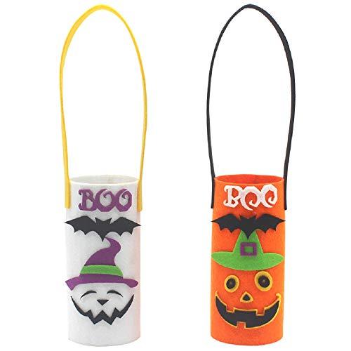 Scary Clown Kürbisse - Halloween Weinflasche Tasche, Spaß Weinflasche Tasche