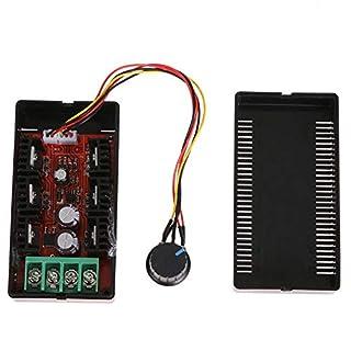 amazingdeal DC10–50V PWM Hoo DC Motor Speed Control Board 2000W 40A externe Schalter