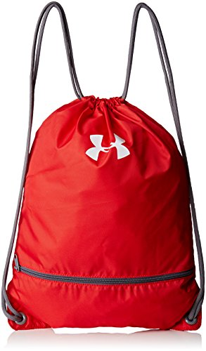 Under Armour UA Team Sackpack Tasche, Red, 20 x 10 x 2 cm