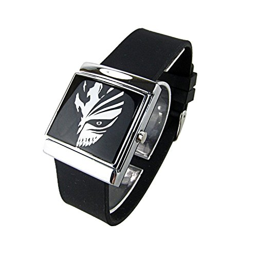 LAIE Cosplay Costume Anime Watch Wrist Watch with Cool Led Bleach Anime-Uhr-Armbanduhr mit Cool Led (Cosplay Uhr Anime Armbanduhr)