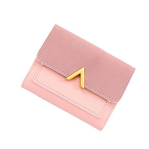 Kobay-Damen Retro Mini Geldbörsen Geldbörsen Kurze weibliche Geldbörse Kreditkarteninhaber