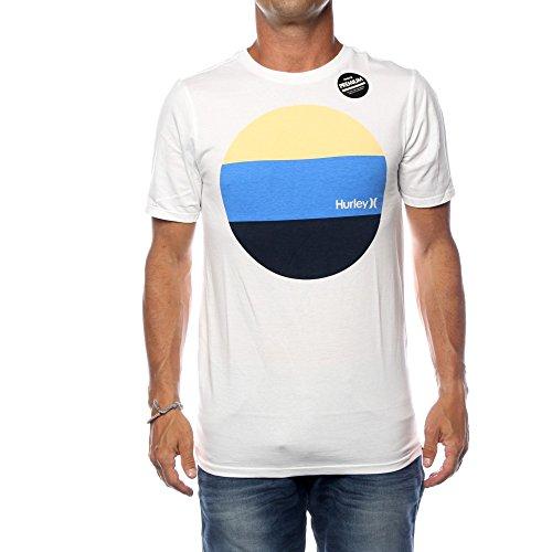 Hurley Herren T-Shirt Circular Block T-Shirt (Cachet-block)
