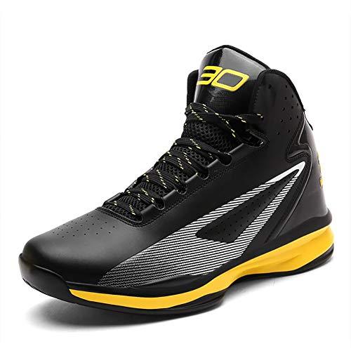 FEI Herrenschuhe, Lovers Basketballschuhe, High-Top Sneakers, wasserdichte Performance-Dämpfung Basketballschuhe Trainer Turnschuhe -
