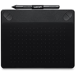 Wacom Intuos Photo Pen and Touch Graphics Tablet, Small - Black