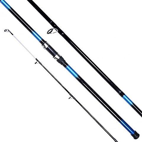 ShakEspeare Beta Beachcaster Rod Length: 12FT, Casting Weight: 4-8oz, Piece: 2