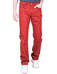 pantalons lee cooper 003747 lc118 rouge