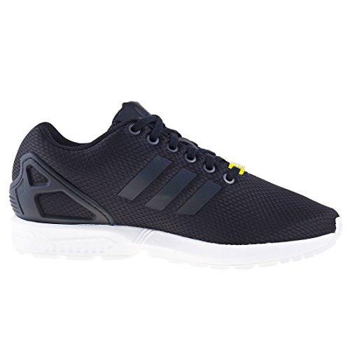 adidas ZX Flux Unisex-Erwachsene Laufschuhe Schwarz (Black/Black/White)