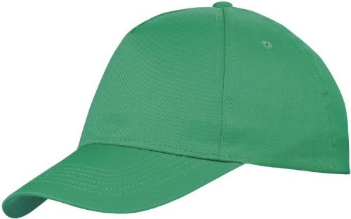 Baseball Cap 'Euro' = 100% Baumwolle im 13 Farben (Kelly Green)