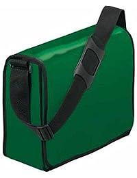 HALFAR - sac sacoche bandoulière porte documents 1802814 - vert foncé - mixte homme / femme
