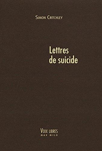 Lettres de suicide