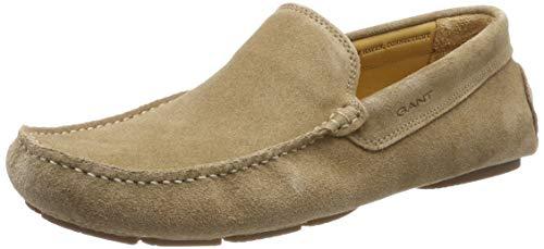 GANT Footwear Herren Austin Mokassin, Safari Beige G113, 42 EU Austin Schuhe
