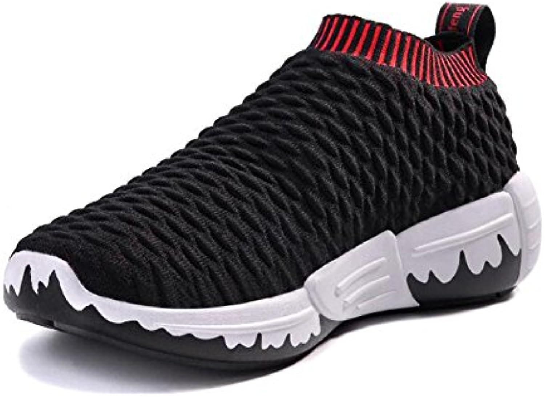 Hombres/Mujeres Zapatillas de Punto Primavera/Verano Confort Zapatos atléticos Zapatos para Caminar Parejas Low  -