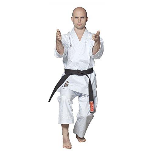 Hayashi 027kimono di karaté misto, unisex, 027, bianco, 185 cm