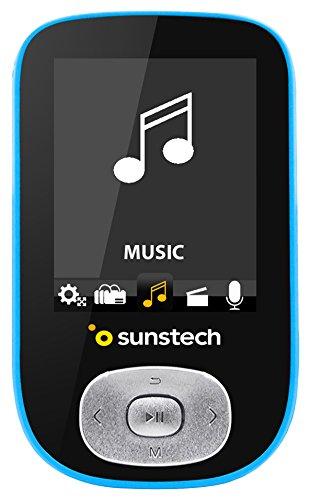 Sunstech skybt–MP4-Player, Blau Grabadora De Audio Y Video