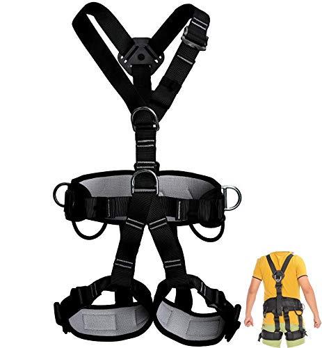 Klettern Sicherheitsgurt Aerial Work, Ring Harness Ganzkörper-Werkzeug Fall Protection Industrial Personal, Ausrüstung, Klimaanlage Installations Gürtel -