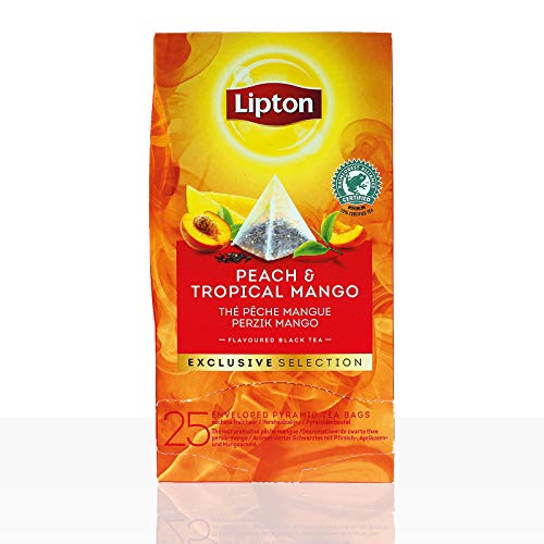 Lipton Tee Exclusive Selection Peach & Tropical Mango 6 x 25 Beutel á 1,8g