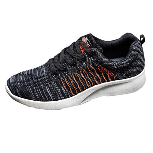 Luckycat Laufschuhe Sportschuhe Turnschuhe Herren Sneakers Running Shoes Sport Atmungsaktiv Straßenlaufschuhe Freizeit Sneaker Dämpfung Leichte Rutschfeste Atmungsaktive Sportschuhe Fitness Schuhe