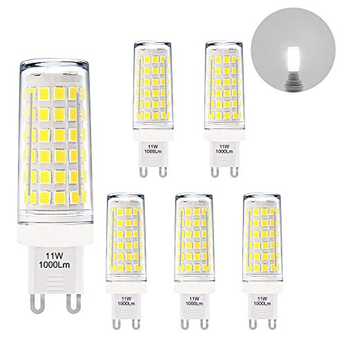 Go Ocean G9 Led Bulbs 7w Corn Light Crystal Light Lamp Living Room Lights 220v 230v 240v 3014 104smd Replace 50w Halogen Lamp Easy To Repair Light Bulbs