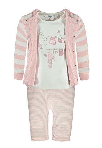 Kanz Unisex Baby Bekleidungsset Wendejacke Arm + T-Shirt 1/1 Ar, Rosa (Parfait Pink Melange 8195), 62