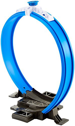 Hot Wheels Track Builer Loop, Accesorios para Pistas de Coches (Mattel FPF04)