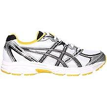ASICS Patriot 6 Mens Running Trainer Shoe - White / Yellow