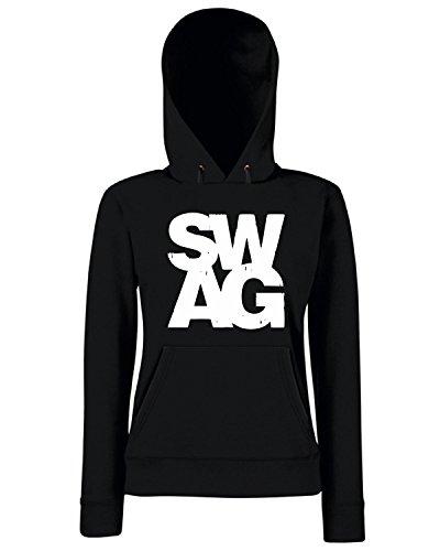 T-Shirtshock - Sweats a capuche Femme OLDENG00671 swag Noir