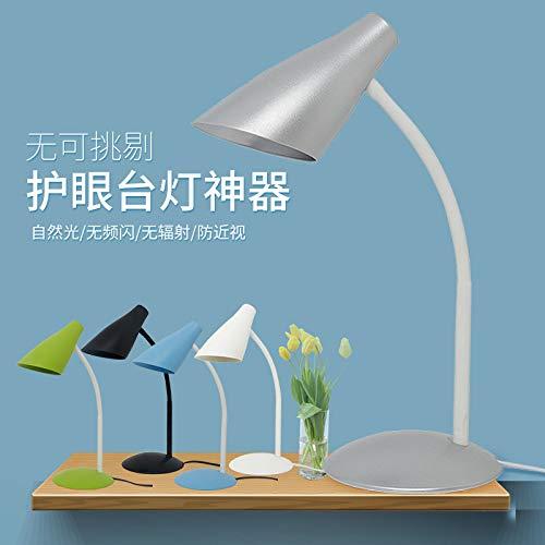 Lampada da scrivania a led luce notturna protezione da tavolo a led lampada da tavolo lampada da lettura clip nera portalampada + lampadina a LED