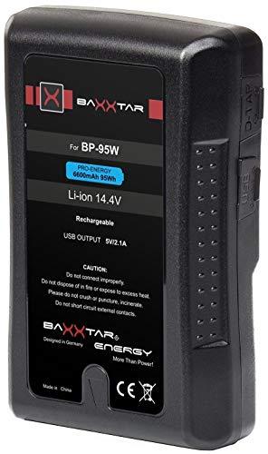 Baxxtar Pro V Mount batería   LG Cells Inside   6600mAh