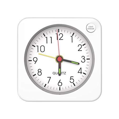 MoKo Mini Reloj Despertador Cuadrado