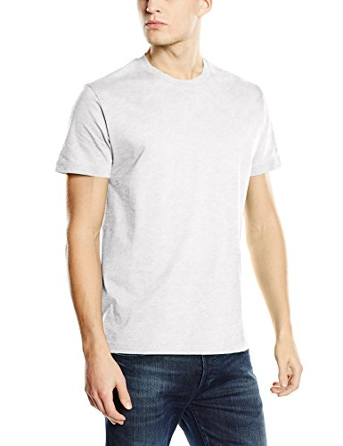 Stedman Apparel Herren Regular Fit T-Shirt Grau (Ash)