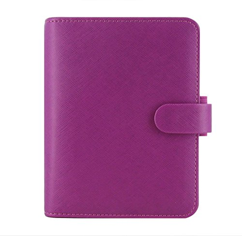 Filofax Saffiano Pocket Organizer–Raspberry