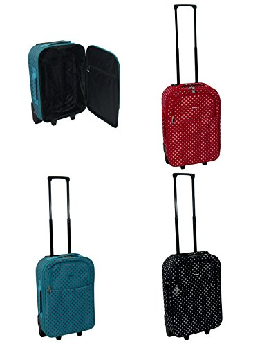 5b8768a7bb1f Lightweight Cabin Approved Wheeled Hand Luggage Small Travel Bag