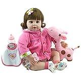 CYdoll 22inch Nette Simulation Rebirth Baby Puppe Hohe Qualität Realistische Puppe Kinder Geschenk
