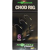 KORDA CHOD RIGS SHORT BARBED SIZE 6 - KCR017 by Fishing Republic