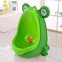 Quieting Frog Children Potty Toilet Training Kids Urinal Baby Boys Pee Trainer Bathroom Green