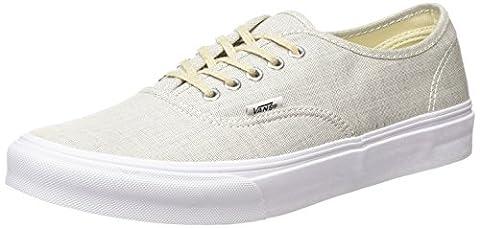 Vans Authentic Slim, Unisex-Erwachsene Sneakers, Grau (chambray/gray/true White), 37 EU