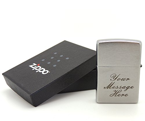personalised-engraved-zippo-brushed-chrome-200-bold-black-lettering