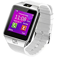 G66® Bluetooth Smart orologio telefono SIM Card 128MB + 64MB con fotocamera, effettuare chiamate 2.0MP Supporto Messaggio notifica TF Card pedometro sonno Monitor compatibile con Android e iOS sistema
