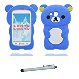 Carcasa Samsung Galaxy Trend Plus GT-S7580 / S7582 / S7562, 3D Cartoon oso Cover Samsung Galaxy...