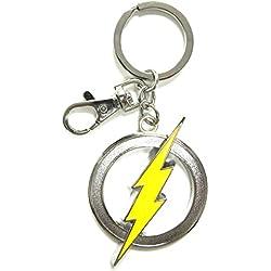 DC Comics The Flash Logo Color Peltre Clave Anillo