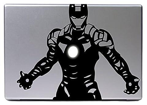 'Apple MacBook Air Pro 13pour Ironman Marvel Fans Hero Stark bande dessinée Sticker Skin Decal Rot