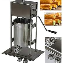 Mochila Manual churro máquina eléctrica de acero inoxidable churro eléctrica español ...